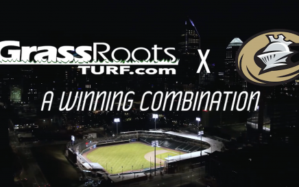 GrassRoots Lawn Care and Charlotte Knights